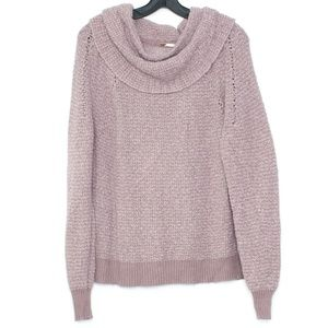 Free People Sweater By Your Side Cowl Neck XS I1